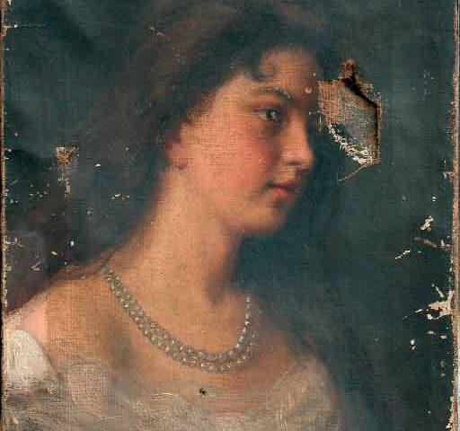 Реставрация-женский-портрет-до