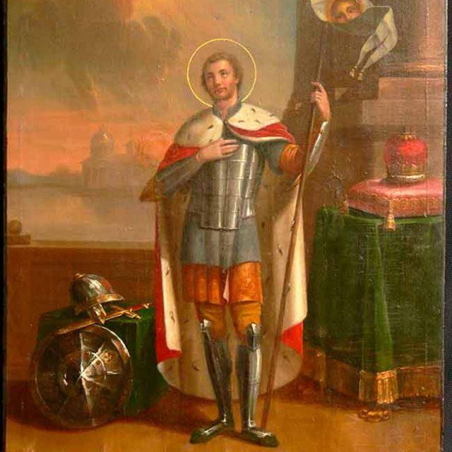 Реставрация-иконы-св.Невский-после2