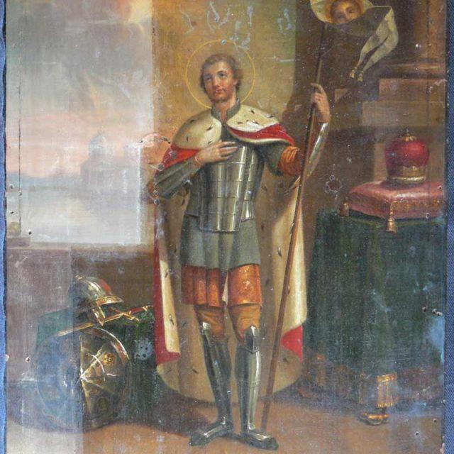 Реставрация-иконы-св.Несвикй-Расчистка