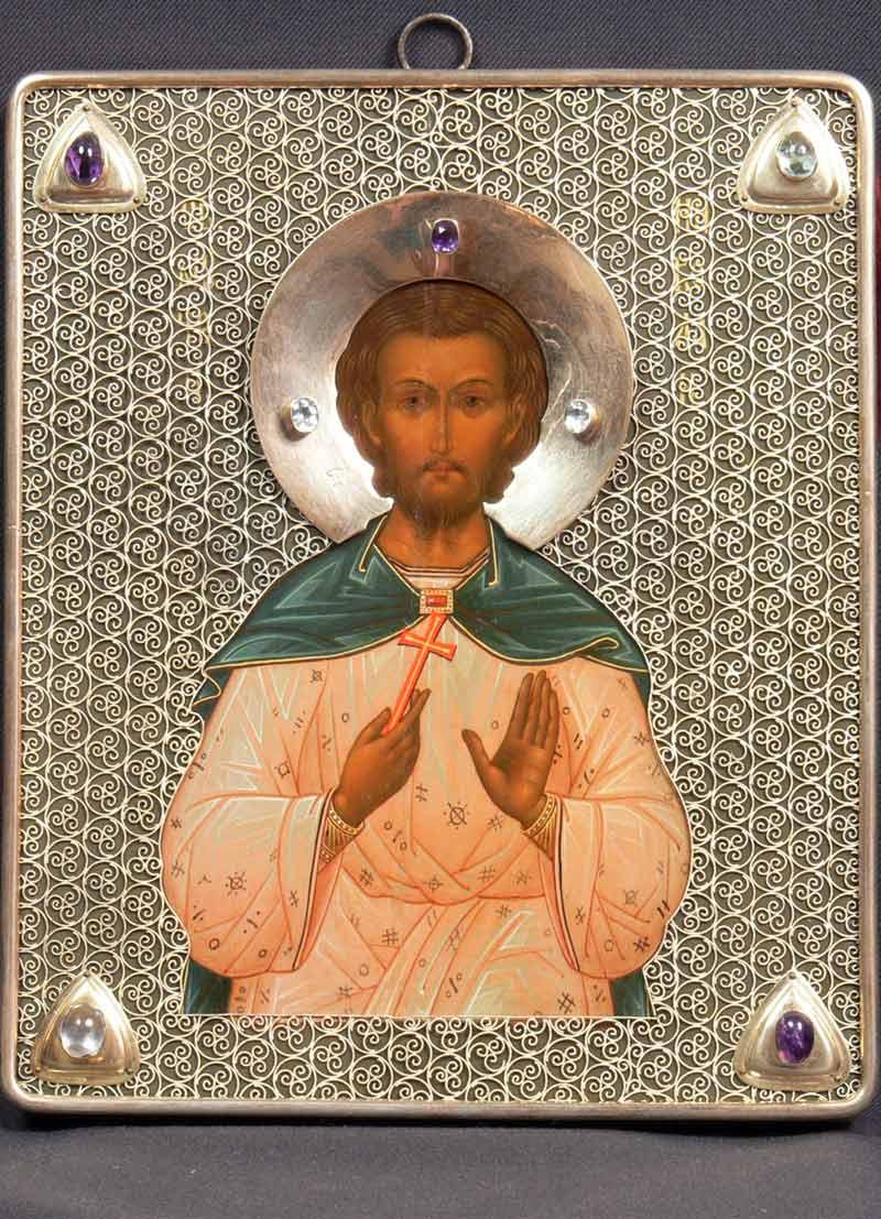 Реставрация-иконы-св.мученик-Николай-После