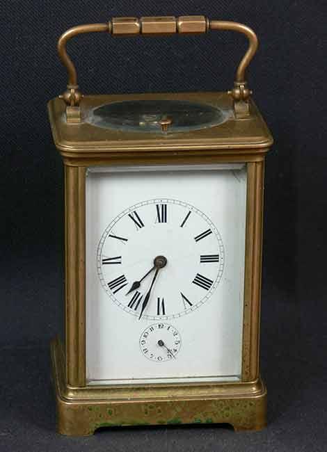 Реставрация-каретных-часов-—-будильник-с-репетиром-До