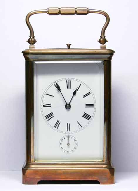 Реставрация-каретных-часов-—-будильник-с-репетиром-После