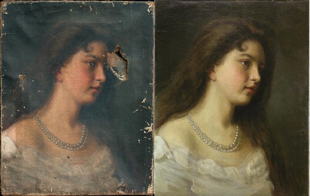картинки реставрация картин